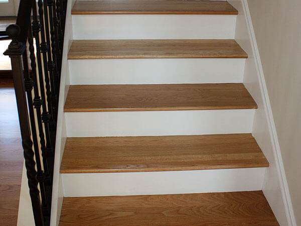 Hardwood Floor Amp Stair Inlays San Mateo Ca Wood Stair